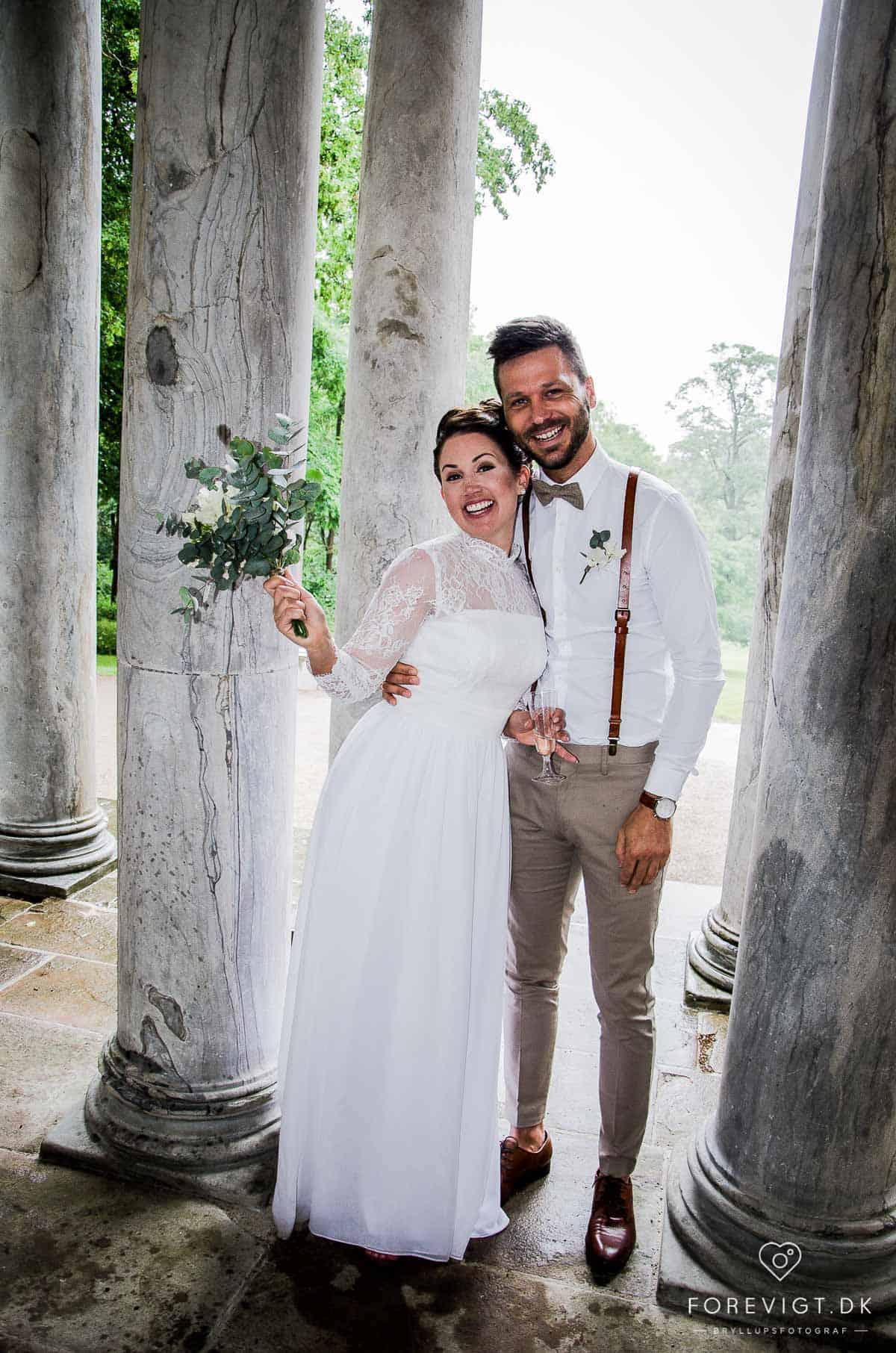 Bryllup i Frederiksberg have. Like. Hos Det Kongelige Danske Haveselskab