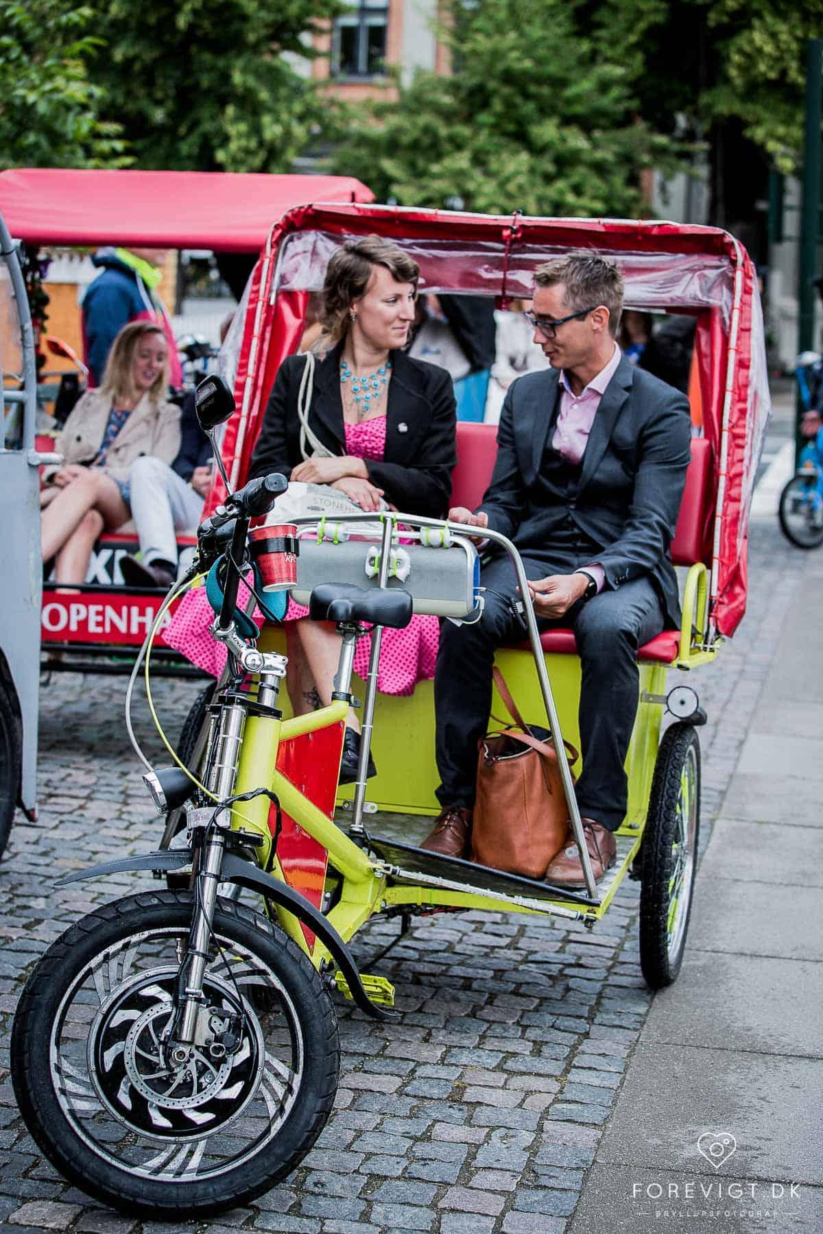 cykeltaxi Frederiksberg