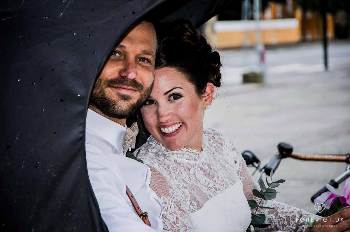 Bryllup i Frederiksberg Have og bryllupsfest på Teaterøen