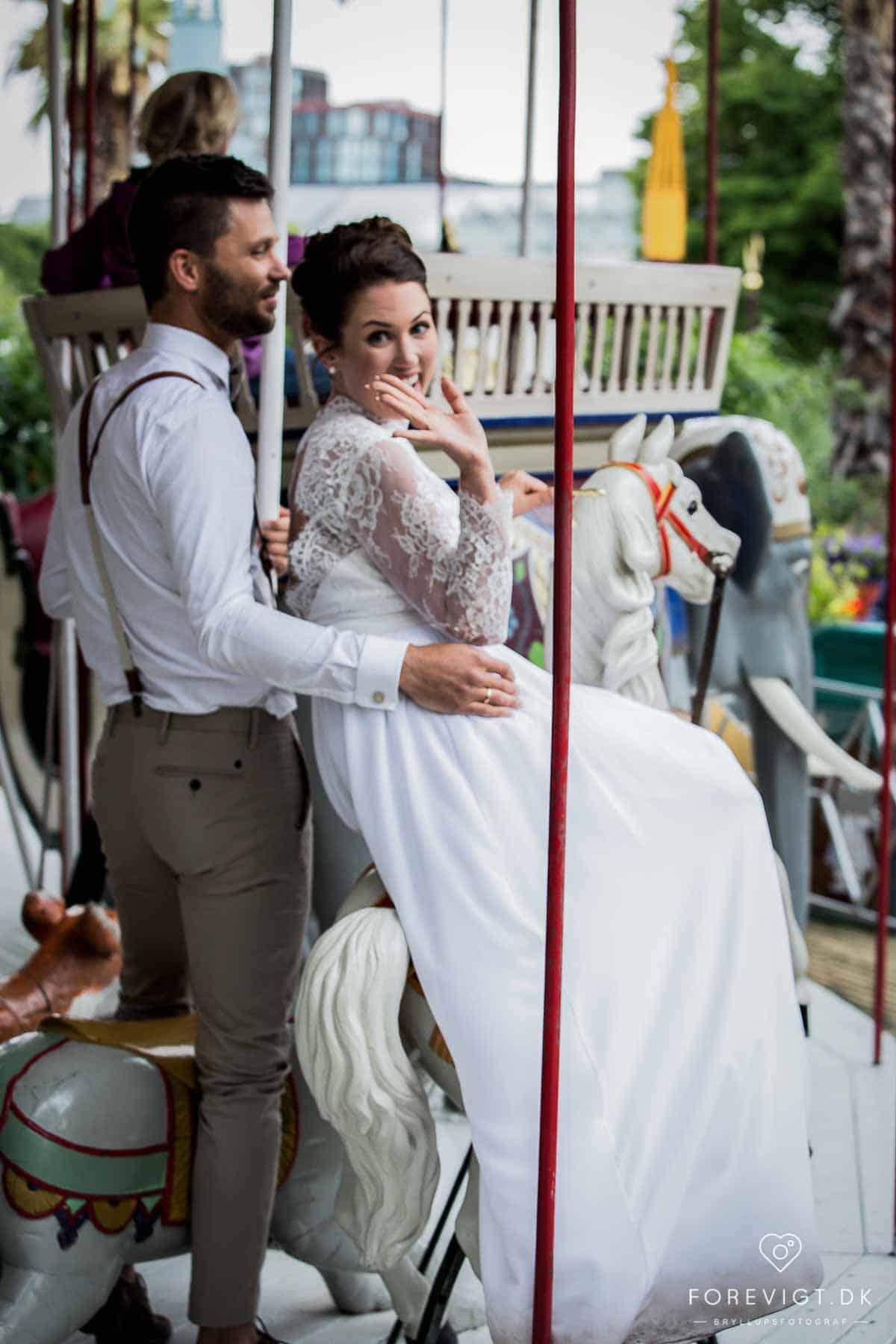 Parrets bryllup på Nimb var igang! Bryllupsfotografering København
