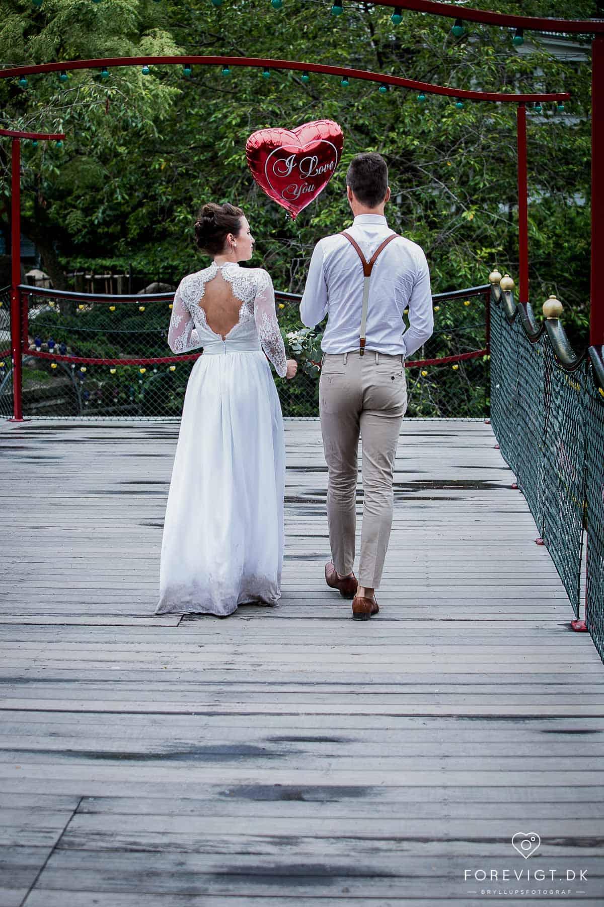 Wedding Couple / Bryllups par i Frederiksberg Have
