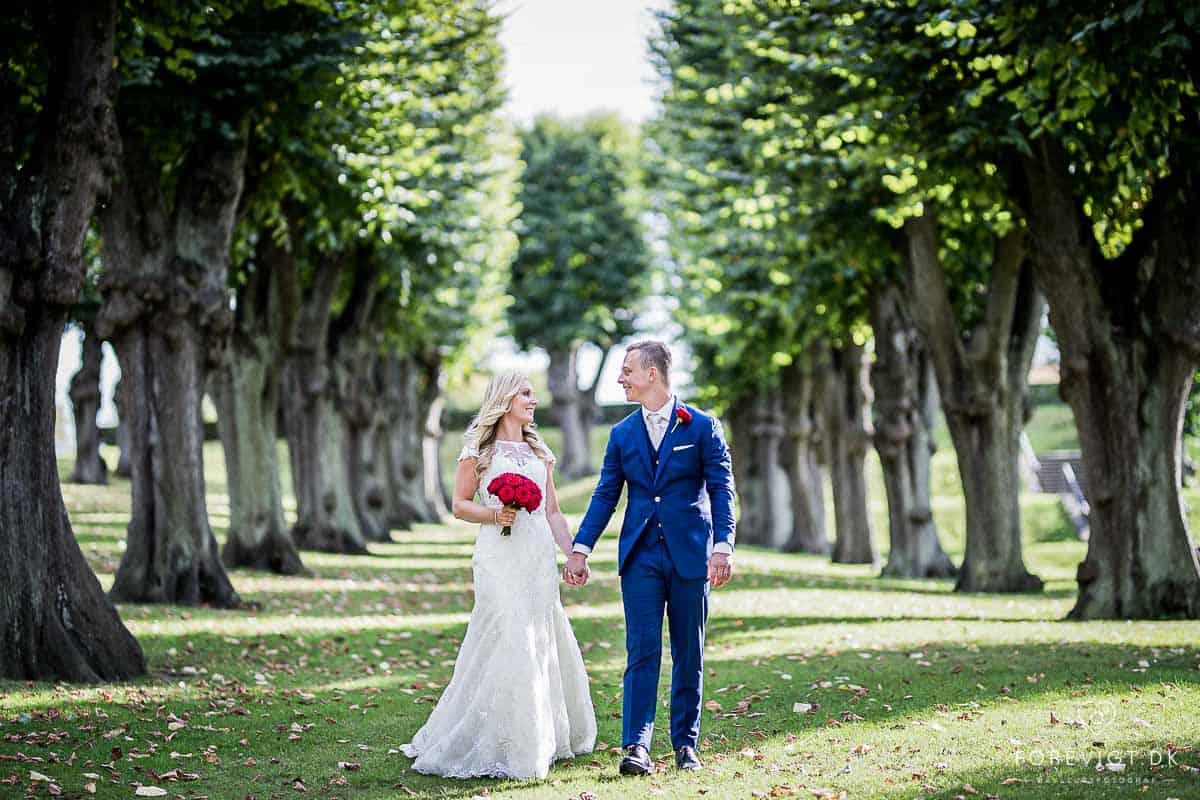 Reception og bryllupsfest på Josty på Frederiksberg