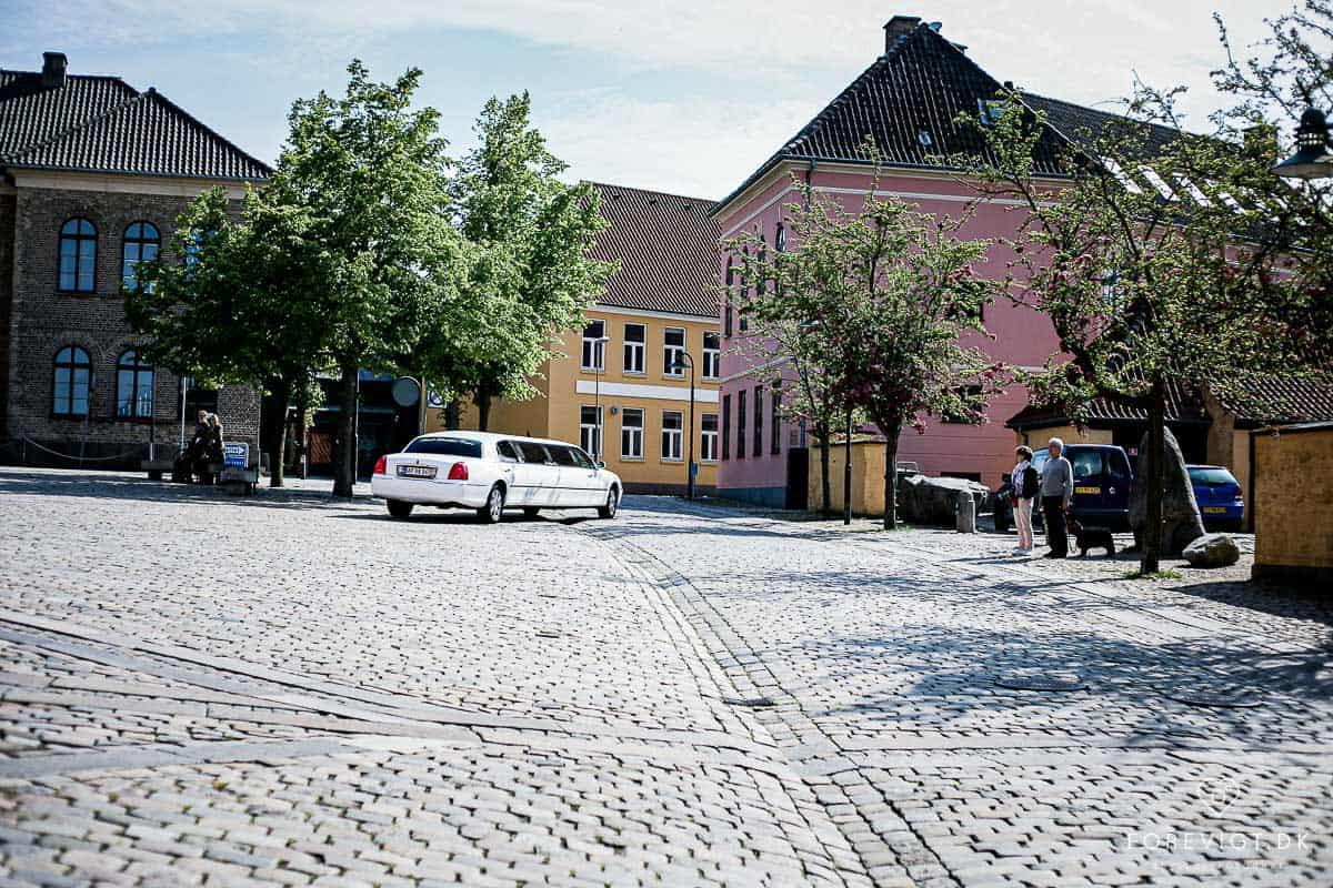 Bryllup og hvedebrødsdage på Roskilde