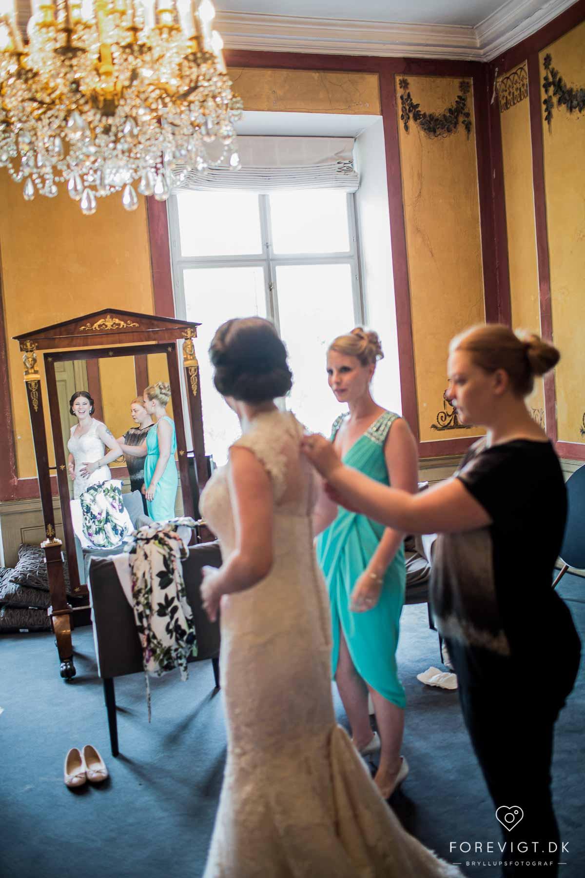 Fortryllende bryllupslokaler på Holckenhavn Slot