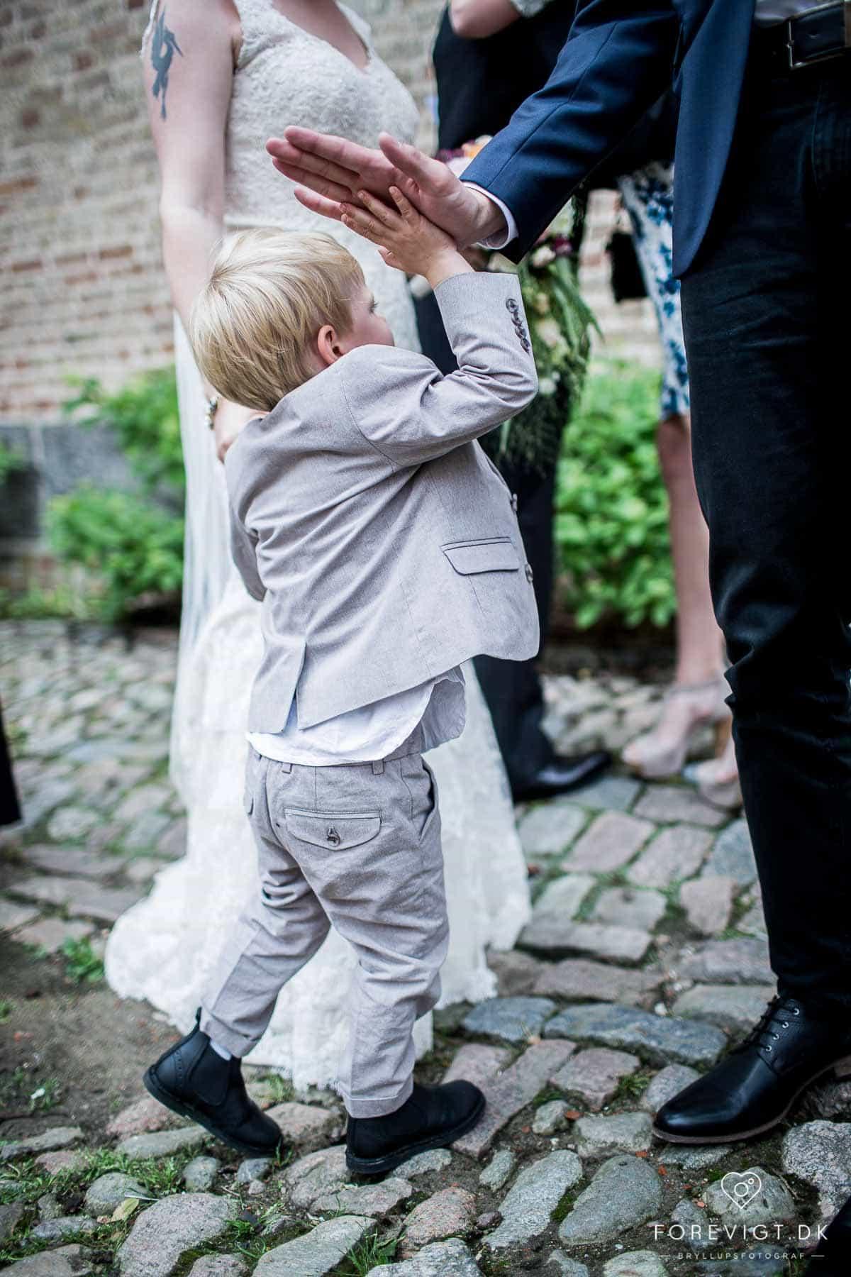 Billeder af natur bryllup