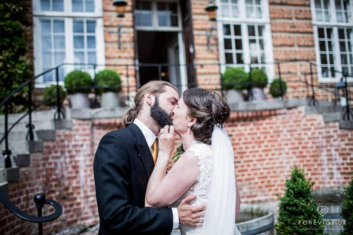 Bryllup på historisk slot