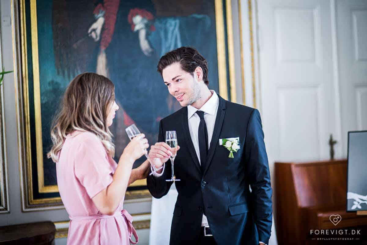 Flere billeder af Holckenhavn Slot bryllup