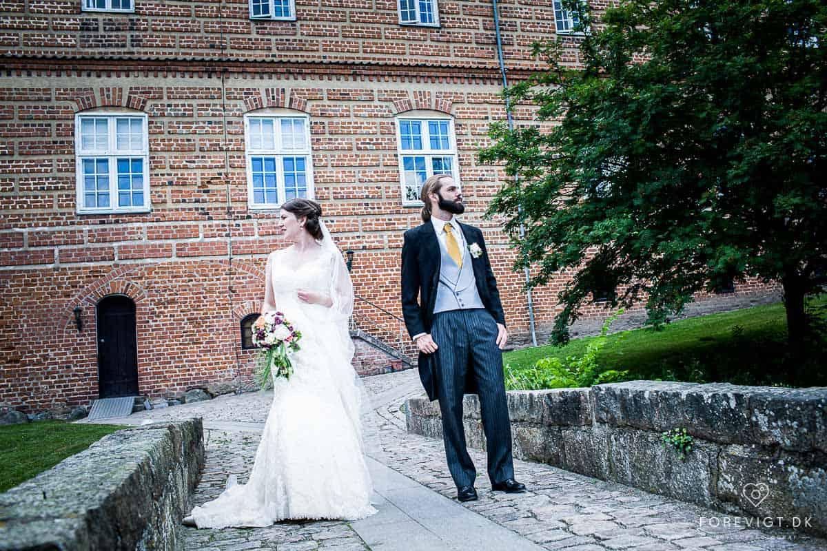 Bryllup på et eventyrslot