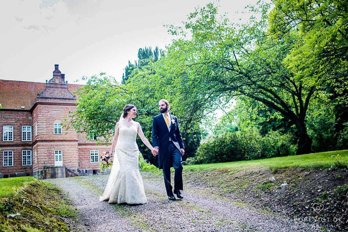 Hold Jeres bryllup på Holckenhavn Slot ved Nyborg og få en eventyrlig bryllupsfest