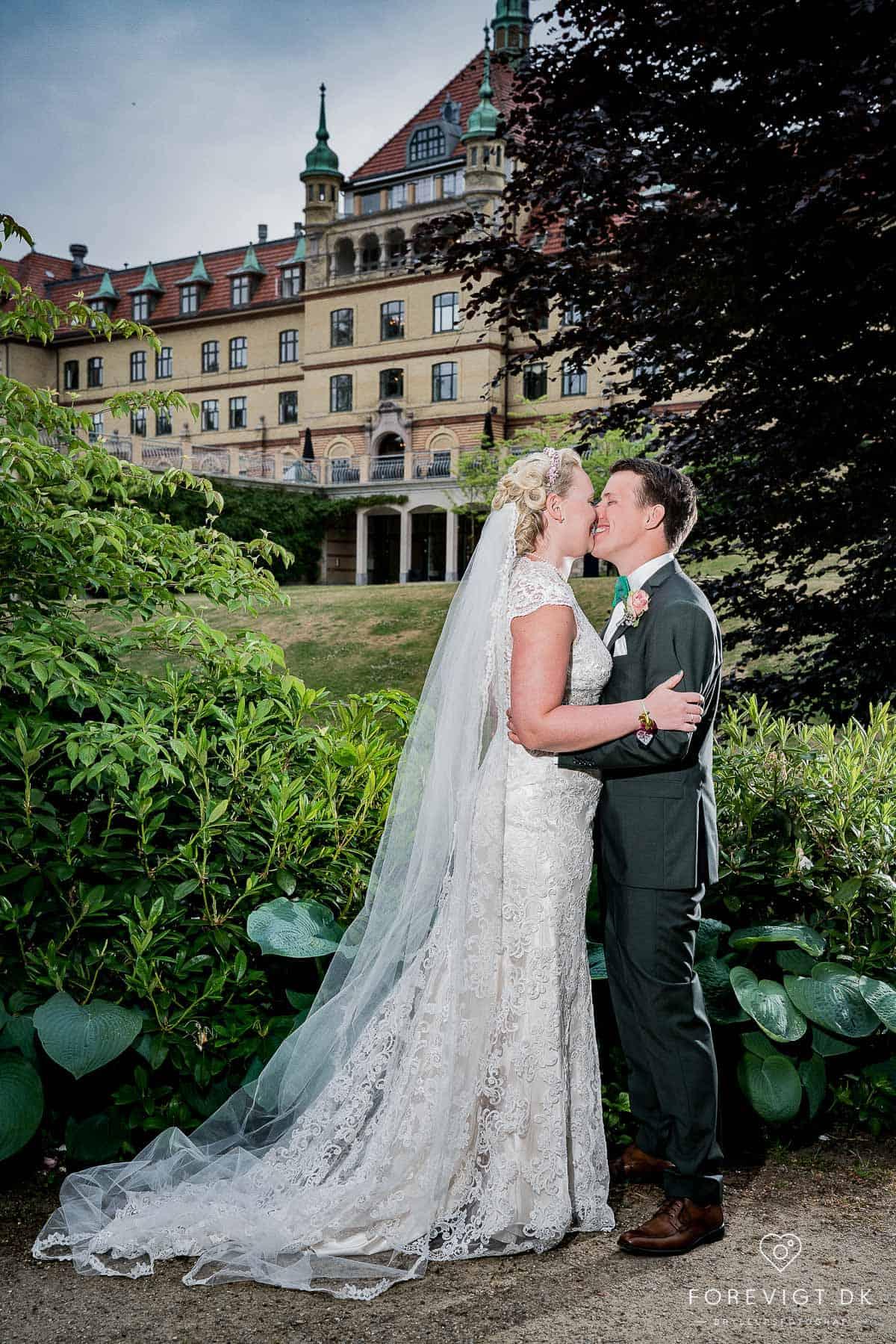 Billeder af bryllup hotel vejlefjord