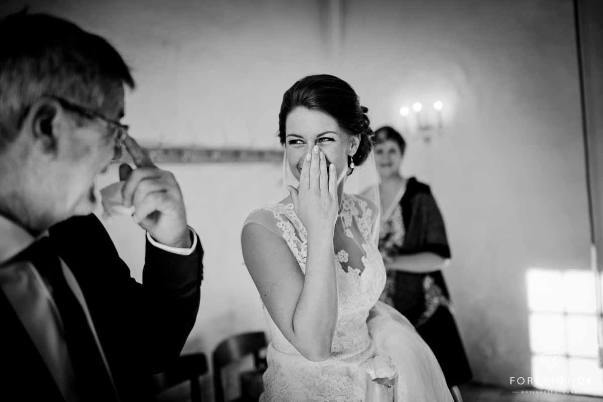 Fotograf til bryllup i Ebeltoft