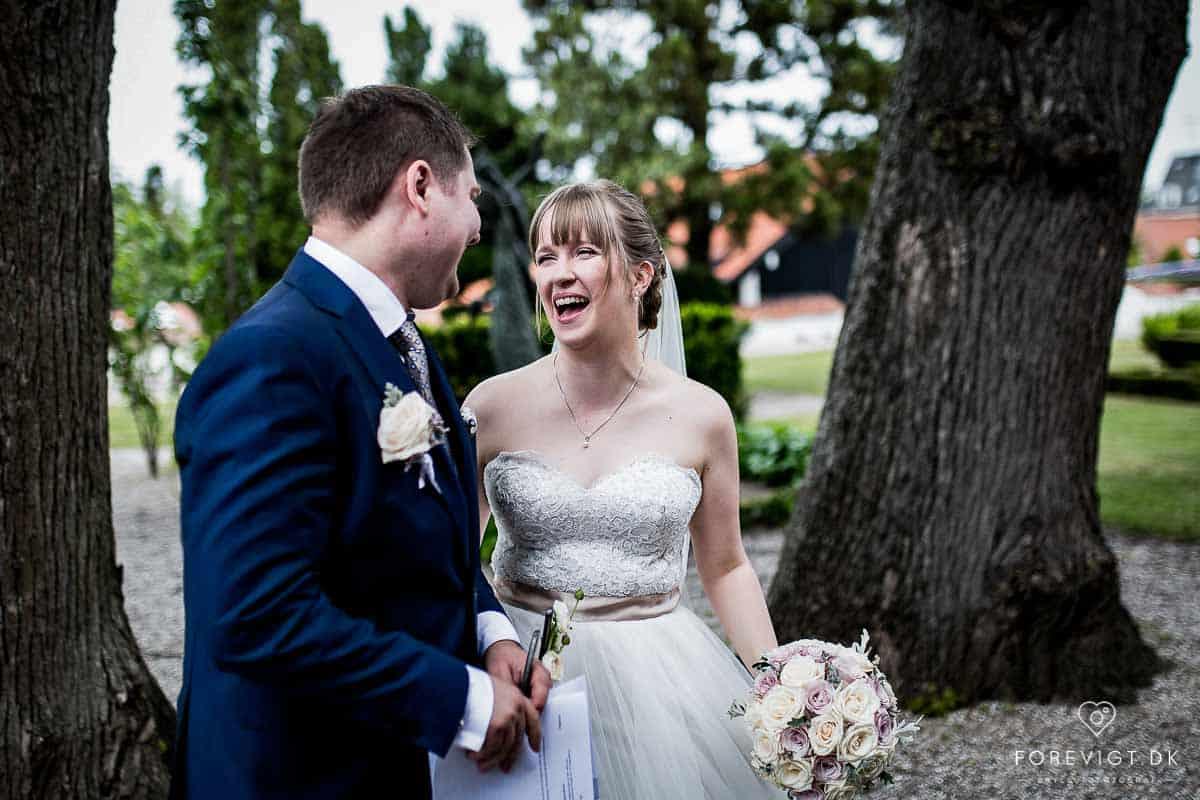 Gennemført lækkert bryllup i København