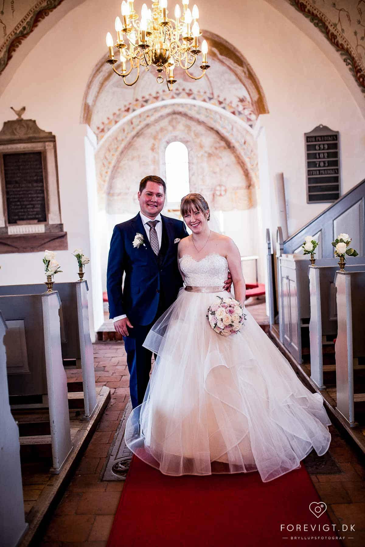 Ballerup Kirke bryllup