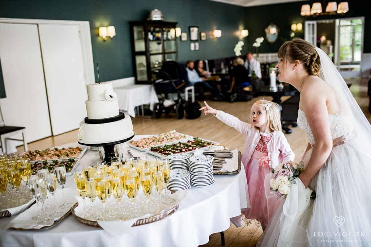 Restaurant Bellahøj - Bryllupsforberedelser - Bryllup