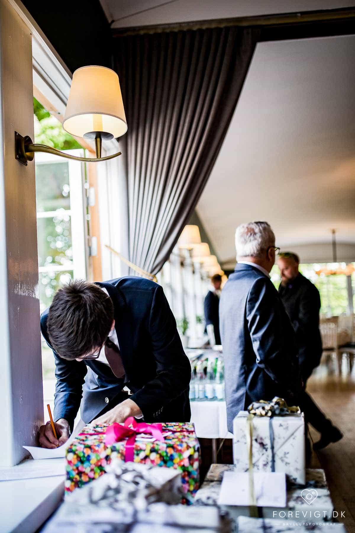 Reception og bryllupsfest på Restaurant Bellahøj