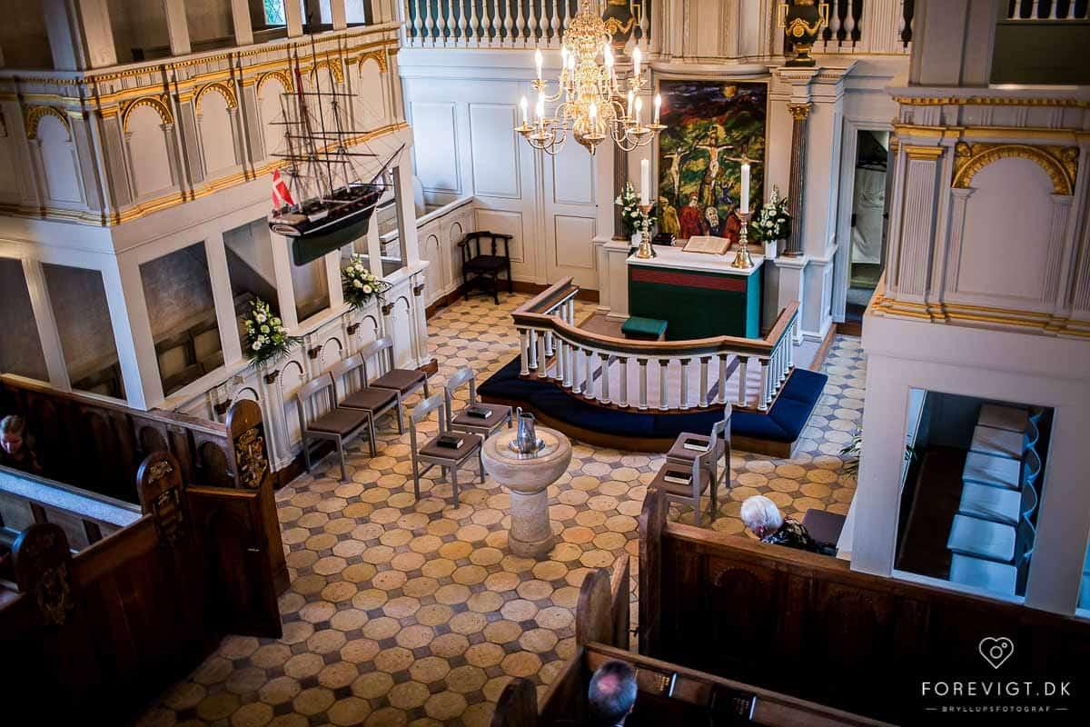 bryllup i området omkring Skanderborg Slotskirke