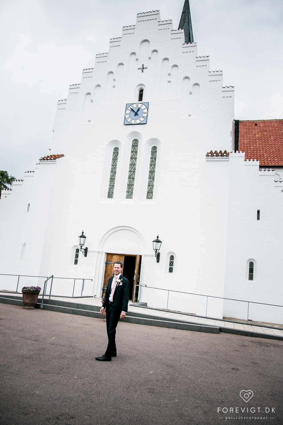 Vielse i Åbyhøj Kirke - bryllup Aarhus