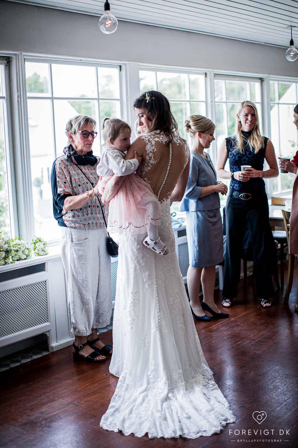 Flere billeder af bryllup Tisvilde Strandhotel
