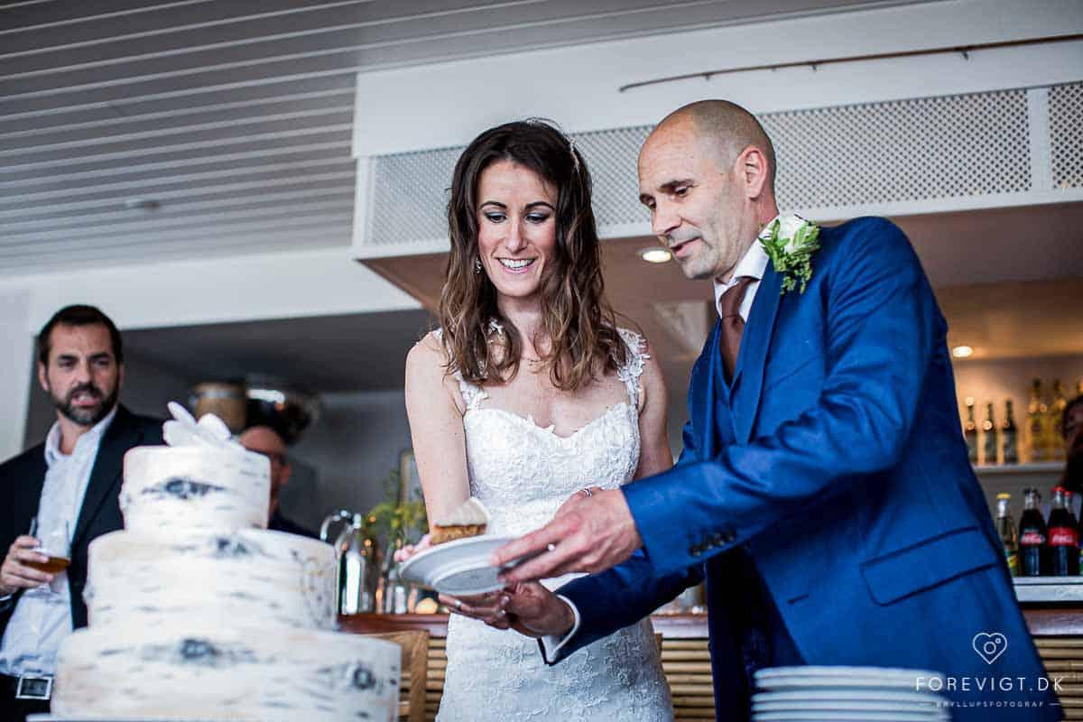 Billeder af bryllup Tisvilde Strandhotel