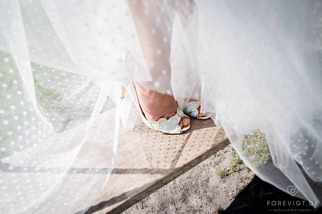 Brudeparret Karoline og Tobias